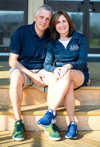 Jane and Dan Kagan, Owner, Directors of Lake Bryn Mawr Camp