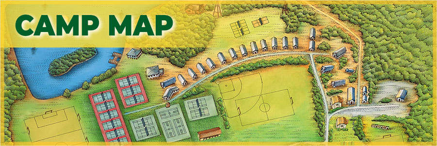 Explore our Illustrated Map of Camp